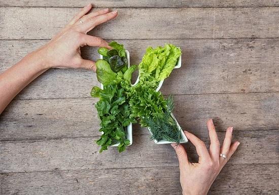 витамин К в продуктах