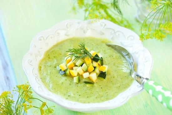 крем суп из кабачков - блюдо, которое подходит для lchf диеты