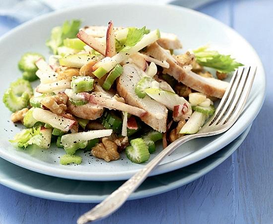 рецепт салата из курицы на палео диете