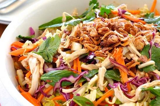рецепт азиатского салата на палео диете