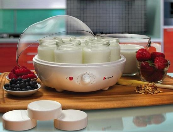 приготовление домашнего йогурта в йогуртнице