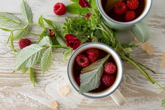 чай с малиной полезен при простуде